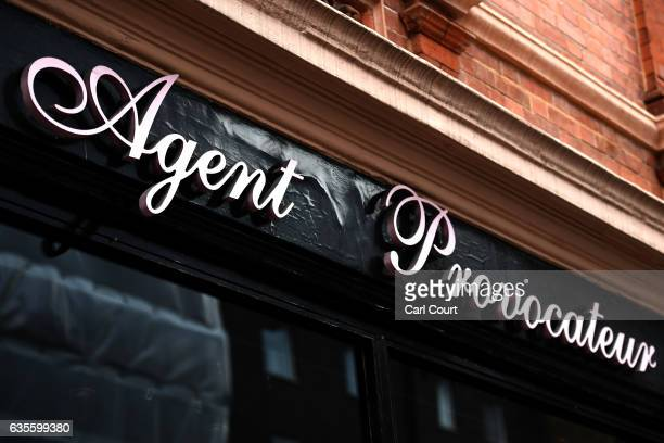 A sign is displayed outside an Agent Provocateur store on February 16 2017 in London England Private equity firm 3i has been looking into options for...