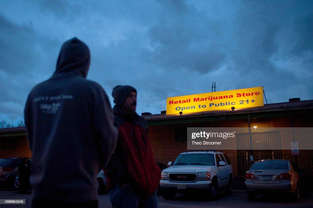 Legal Sale Of Recreational Marijuana Begins In Colorado : News Photo