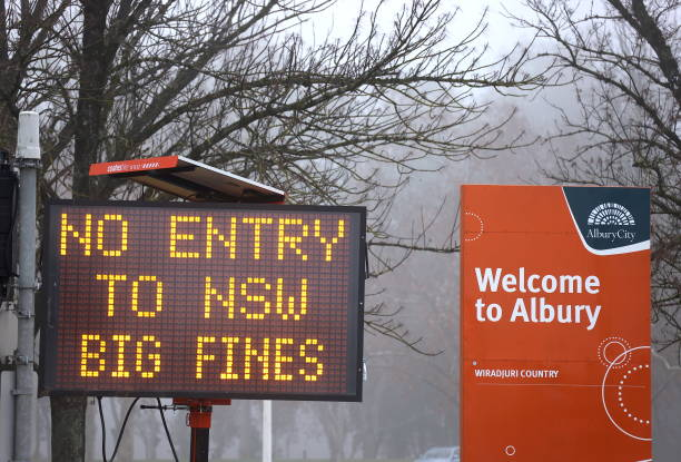AUS: NSW And Victoria Prepare For Hard Border Closures To Come Into Effect To Stop COVID-19 Spread