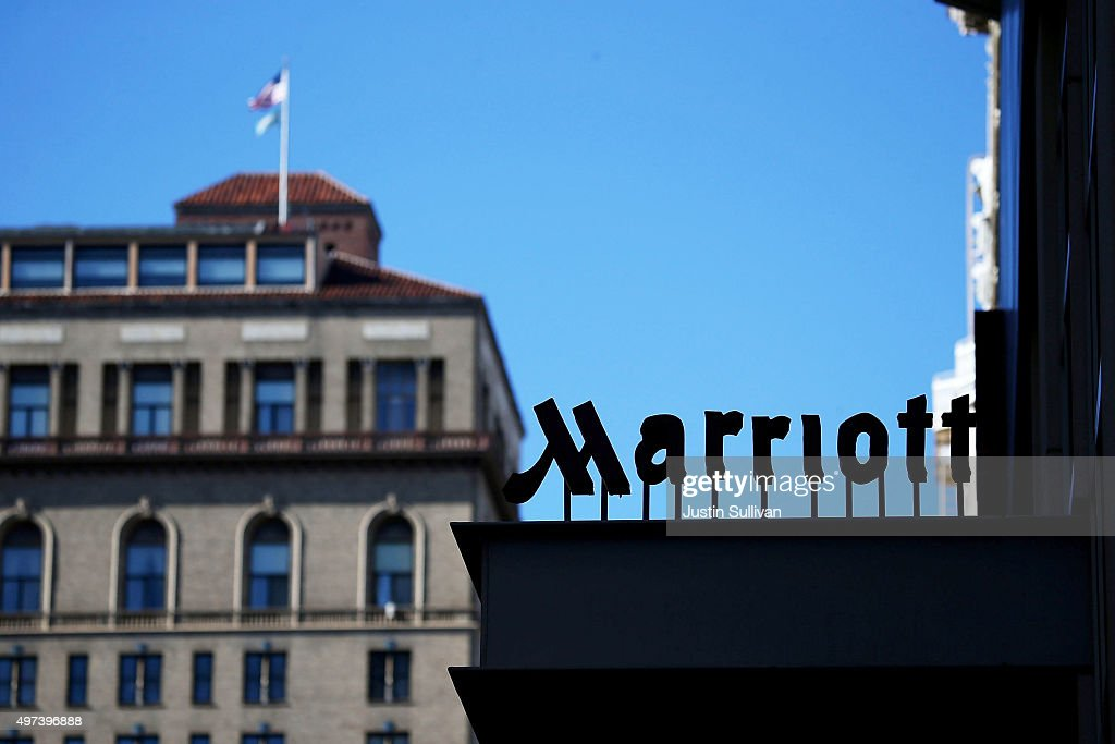 Marriott Acquires Starwood Hotels For $12.2 Billion : News Photo