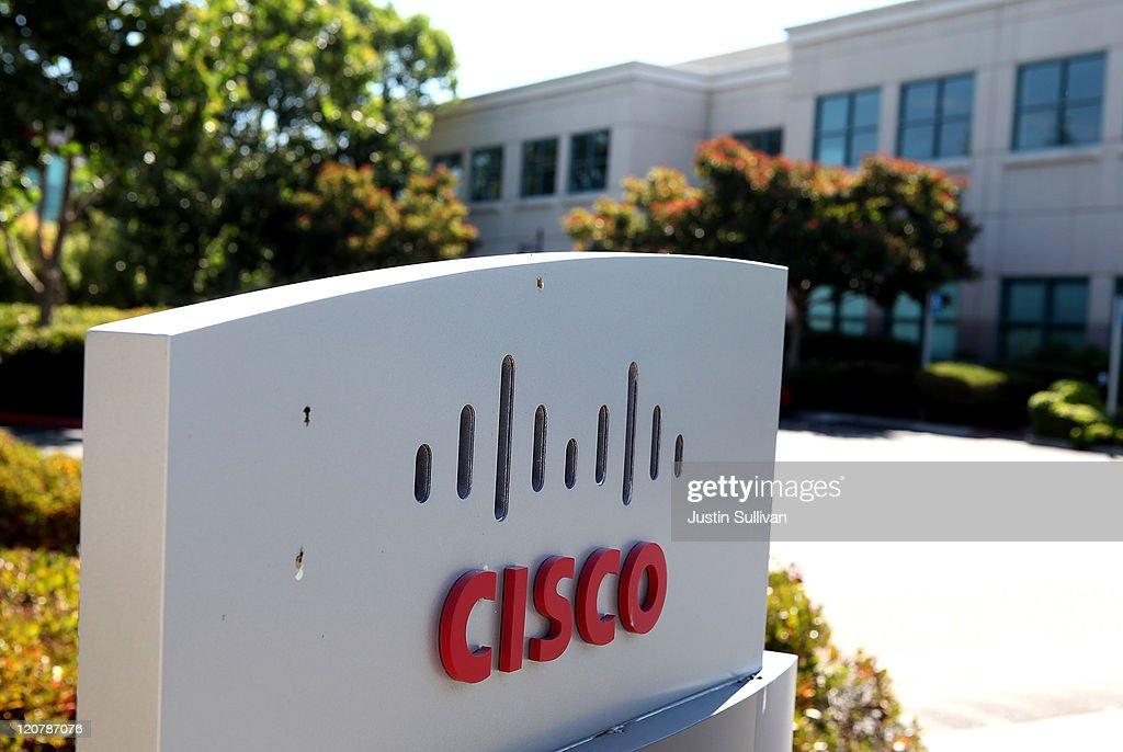 Cisco Announces Quarterly Earnings : News Photo