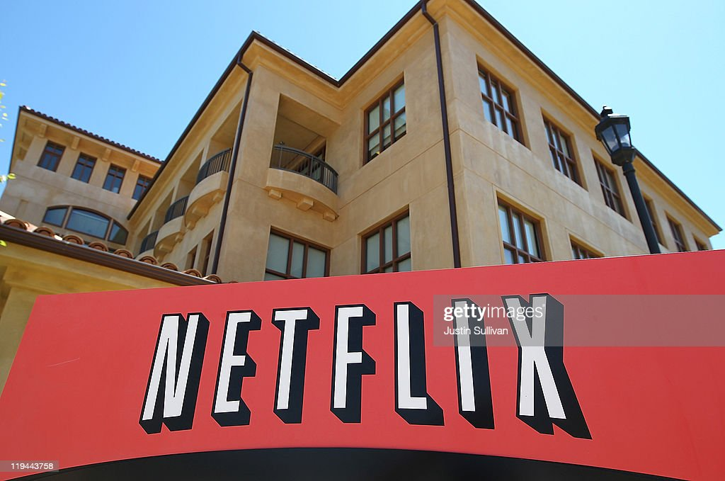 Netflix To Report Quarterly Earnings This Week : News Photo