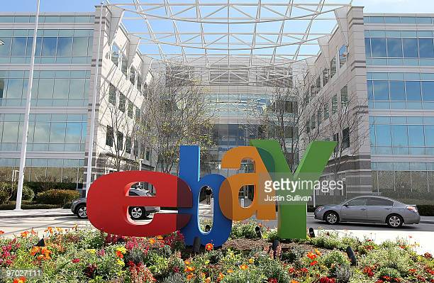 A sign is posted outside of the eBay headquarters February 24 2010 in San Jose California
