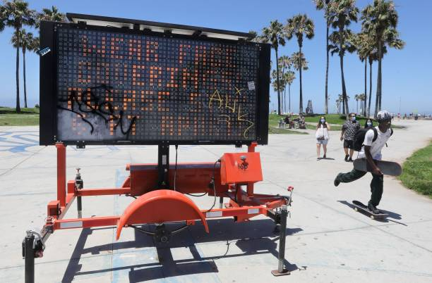 CA: LA County Closes Beaches For Fourth Of July Holiday Weekend