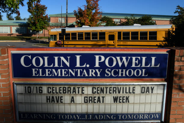 VA: Colin Powell Elementary School In Virginia Pays Tribute To Its Namesake