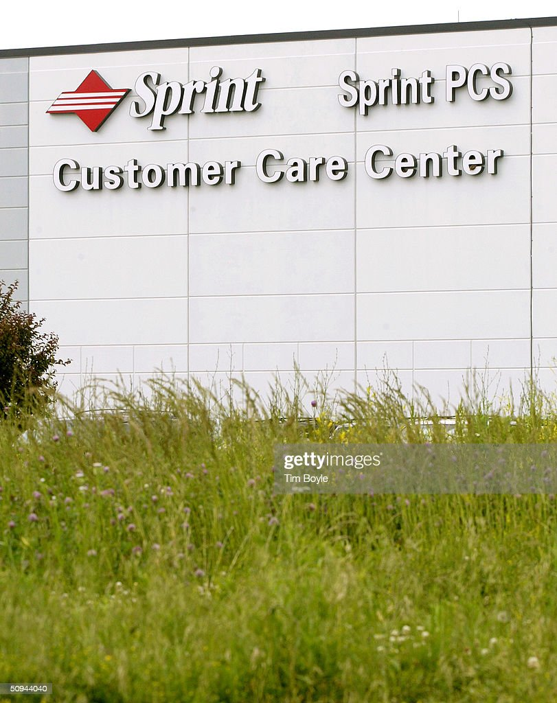 A Sign Is Shown The Sprint Customer Care Center June 9, 2004 In Bolingbrook,  Sprint Customer Care