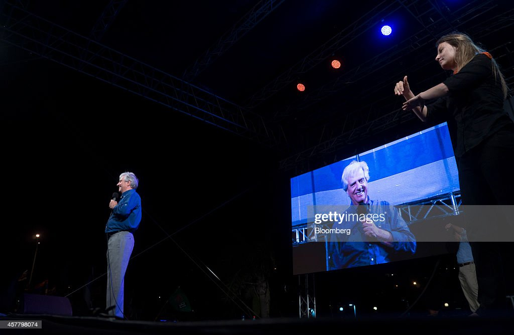 Uruguay's Presidential Candidates Campaign Ahead Of Election : News Photo