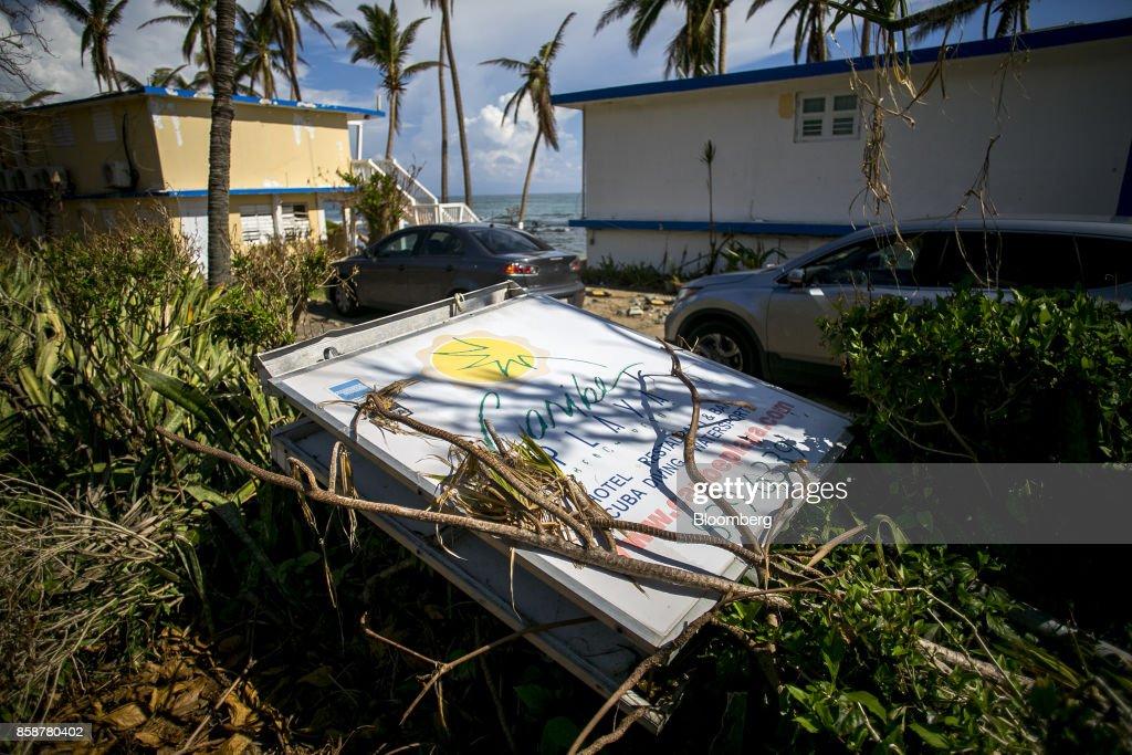 Damaged Caribe Playa Beach Resort After