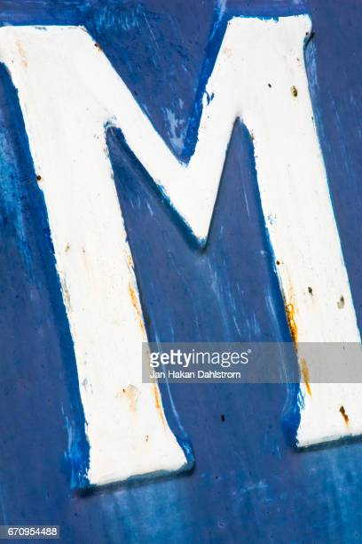 sign letter m - letter m stock pictures, royalty-free photos & images