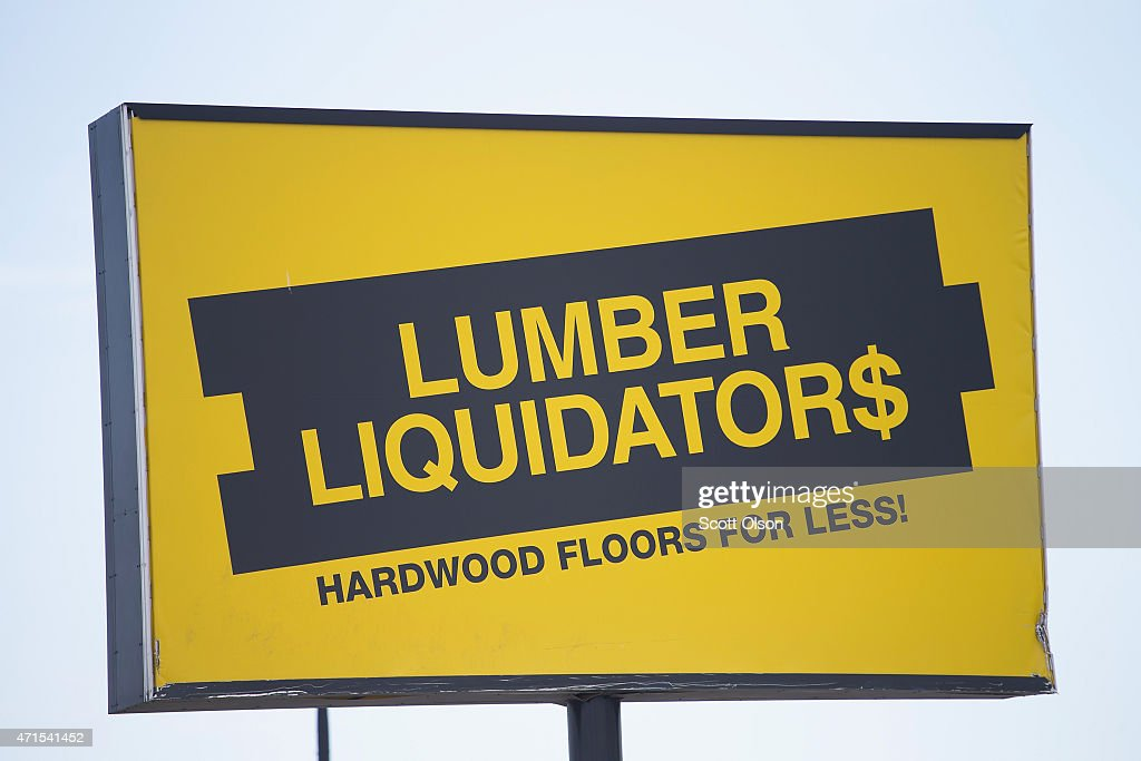 Justice Dep't To File Criminal Charges Against Lumber Liquidators : News Photo