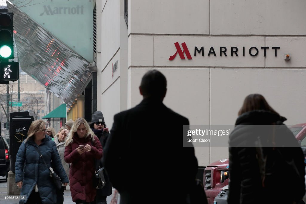 Marriott Hotels Announce Large Data Breach Affecting 500 Million Customers : News Photo