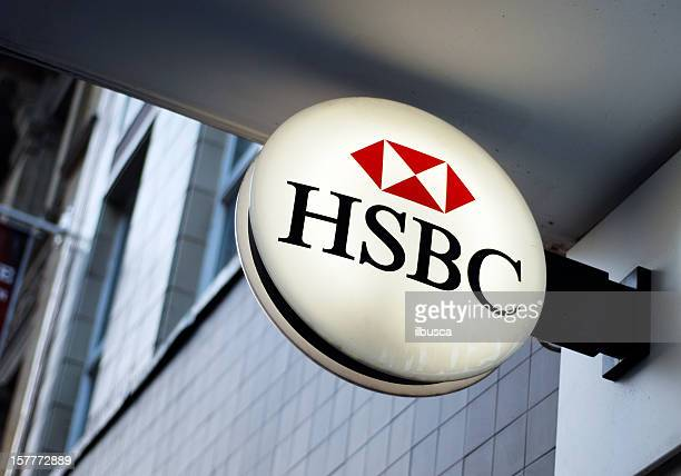 Sign of HSBC bank in Liverpool
