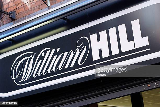 Sign of William Hill bookmakers in Liverpool
