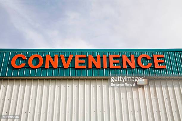 Sign on Convenience Store