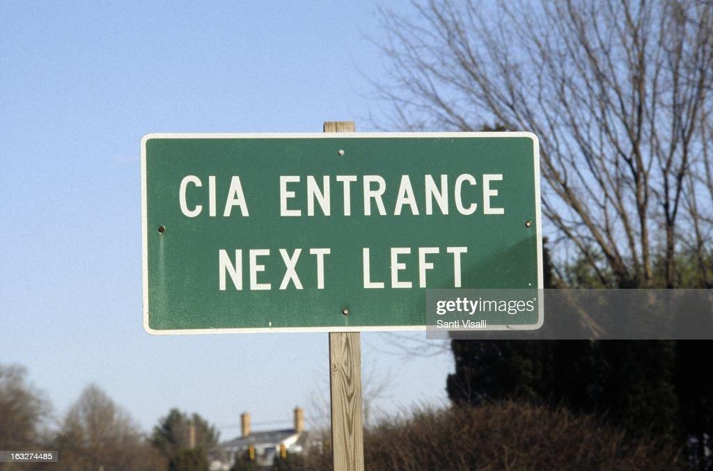 CIA Sign : Nieuwsfoto's