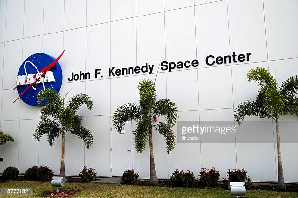 Sign on NASA John F Kennedy Space Center