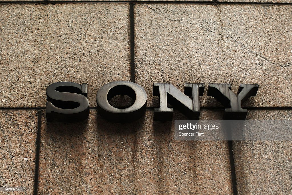 A sign outside of Sony's New York headquarters is viewed on April 10, 2012 in New York City. Sony, the Japanese electronics company, has more than doubled its projected net loss for the past financial year to ´520 billion, the equivalent to $6.4 billion, its worst loss ever.