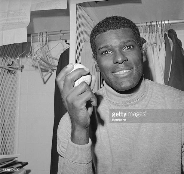 Sign over Bob Gibson's locker is one Detroit Tigers would probably be able to add to following opening game of the World Series Gibson in leading...