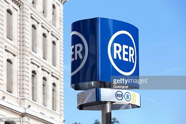 RER sign
