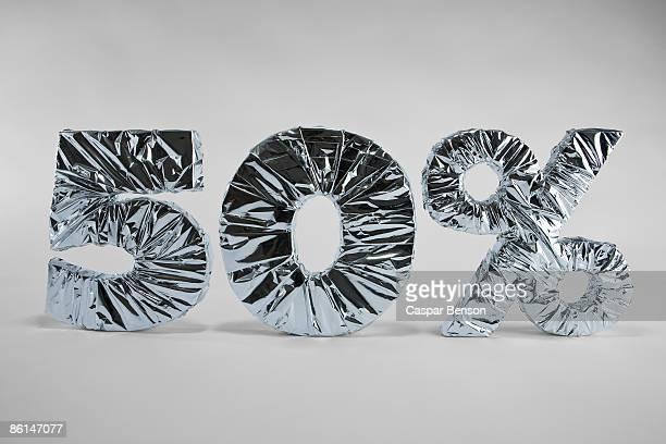 50% sign - number 50 stock photos and pictures