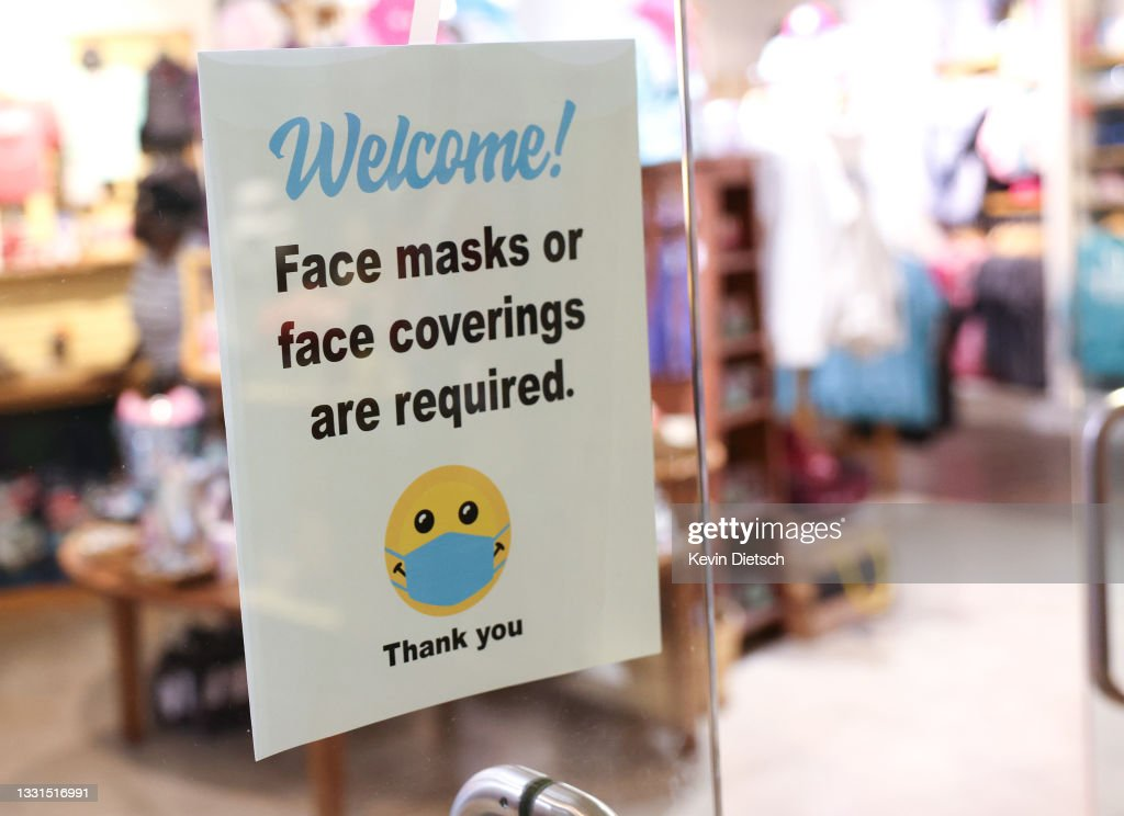 Washington, DC To Require Indoor Masks After Updated CDC Recommendations : News Photo