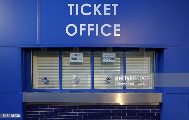 Sold out stock photos and pictures getty images - Leicester city ticket office contact number ...