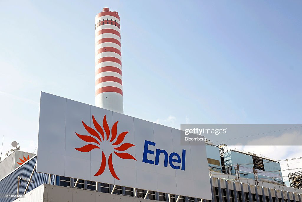 Operations Inside Enel SpA's Torrevaldaliga Nord Power Station : News Photo