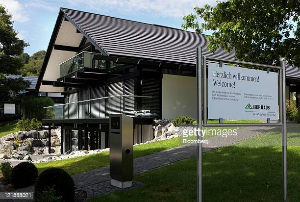 Huf Haus Hartenfels huf haus stock photos and pictures getty images