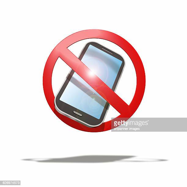 Sign, Smartphones not allowed