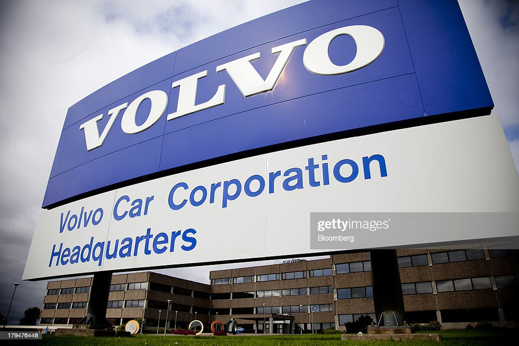 Volvo Cars Group News Conference As Company Targets Growth In