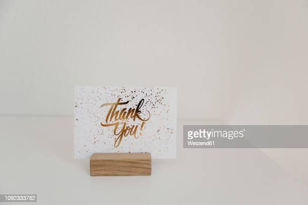 sign, thank you, card - danke stock-fotos und bilder