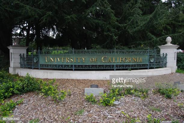 Tecken, University of California i Berkeley