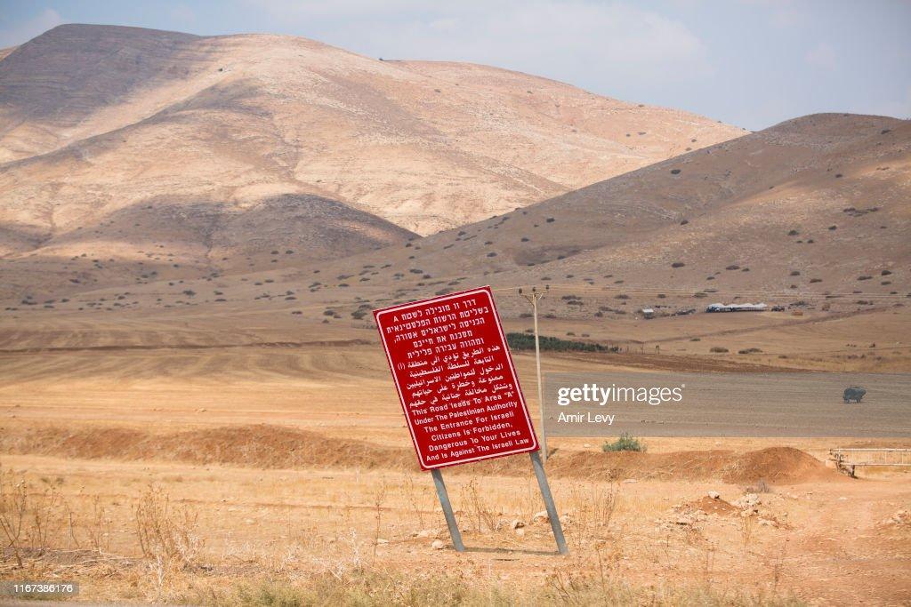 Jordan Valley, A Fertile Swathe Of Occupied West Bank, In Netanyahu's Sights : News Photo
