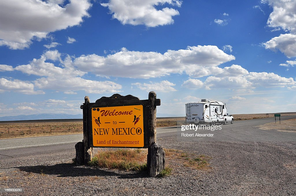 New Mexico Scenics : News Photo