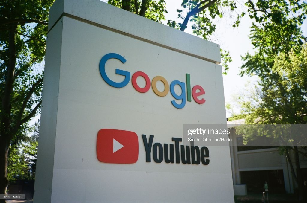 Google And Youtube : ニュース写真