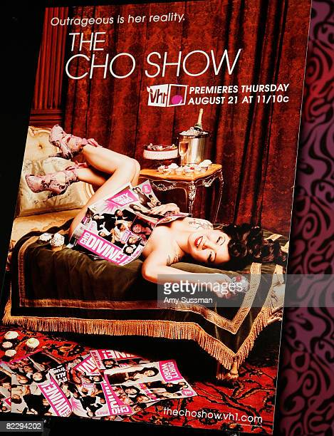 Signage at a screening of Margaret Cho's 'The Cho Show' at Le Royale on August 13 2008 in New York City