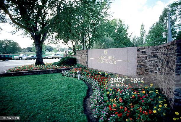 Signage at the 67th PGA Championship held at Cherry Hills Country Club in Englewood Colorado August 811 1985