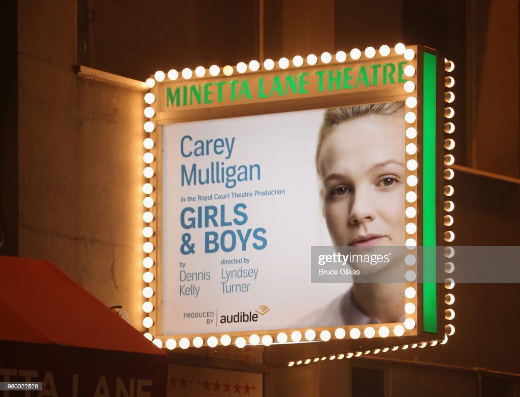 """""""Girls & Boys"""" Opening Night"""