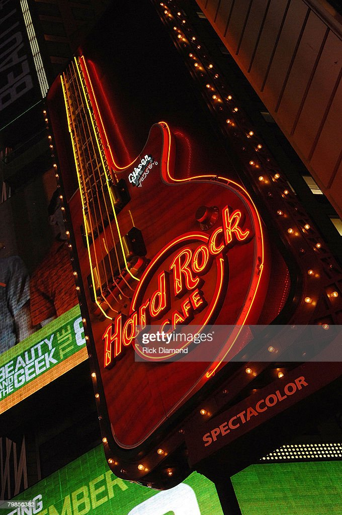 Signage at the The Launch of the Sustainable Biodiesel Alliance at the Hard Rock Cafe in New York City on September 10,2007.