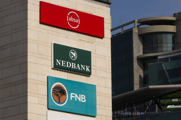 signage for absa group ltd nedbank group ltd and first national bank picture