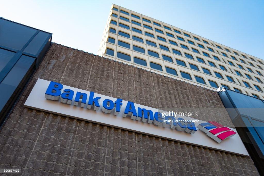 Bank Of America : News Photo