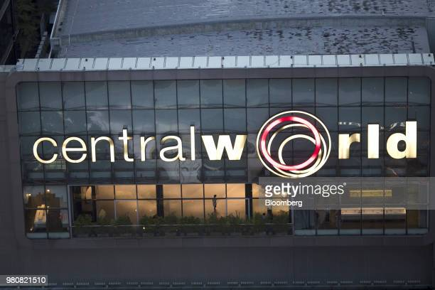 Shoppers sit inside the CentralWorld shopping mall operated by Central Pattana Pcl in Bangkok Thailand on Saturday June 16 2018 Growth in Southeast...