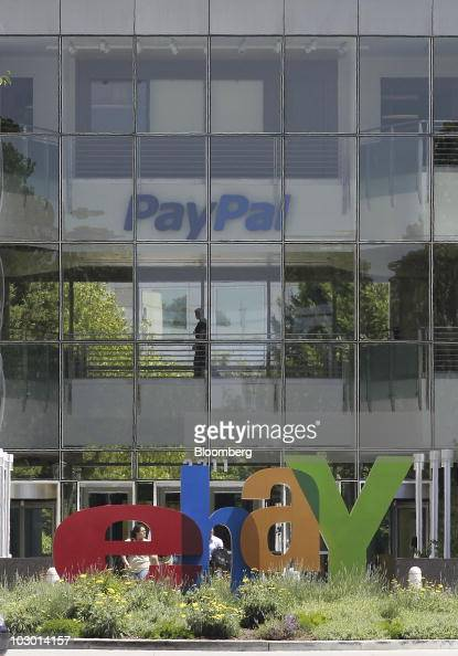 Signage For Ebay Inc And Its Paypal Unit Are Pictured At Company News Photo Getty Images