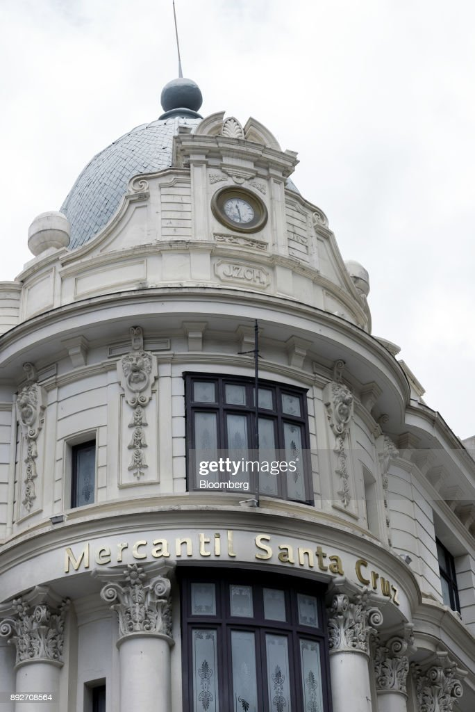 Views Of Bolivia's Leading Financial Institution Banco Mercantil Santa Cruz SA
