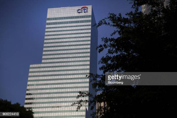 Signage is displayed at a Citigroup Inc bank office building in Los Angeles California US on Thursday Jan 11 2018 Citigroup Inc is scheduled to...
