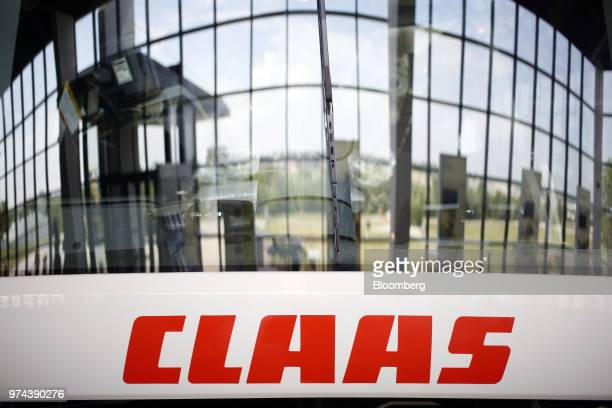 Signage is displayed at the CLAAS of America Inc showroom in Omaha Nebraska US on Wednesday June 6 2018 The Federal Reserve is scheduled to release...