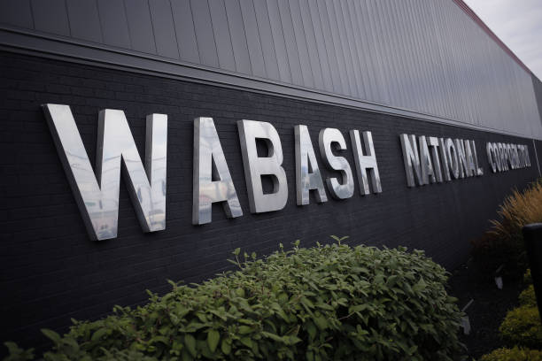 IN: Inside The Wabash National Corp. Facility Ahead Of Markit Manufacturing Figures