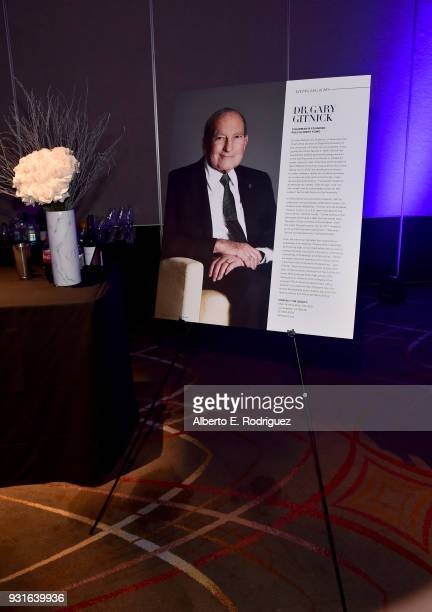 Signage is displayed during A Legacy Of Changing Lives presented by the Fulfillment Fund at The Ray Dolby Ballroom at Hollywood Highland Center on...