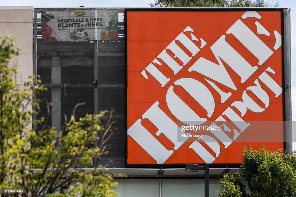 Signage Is Displayed On A Home Depot Inc Store In Jersey City New News Photo Getty Images