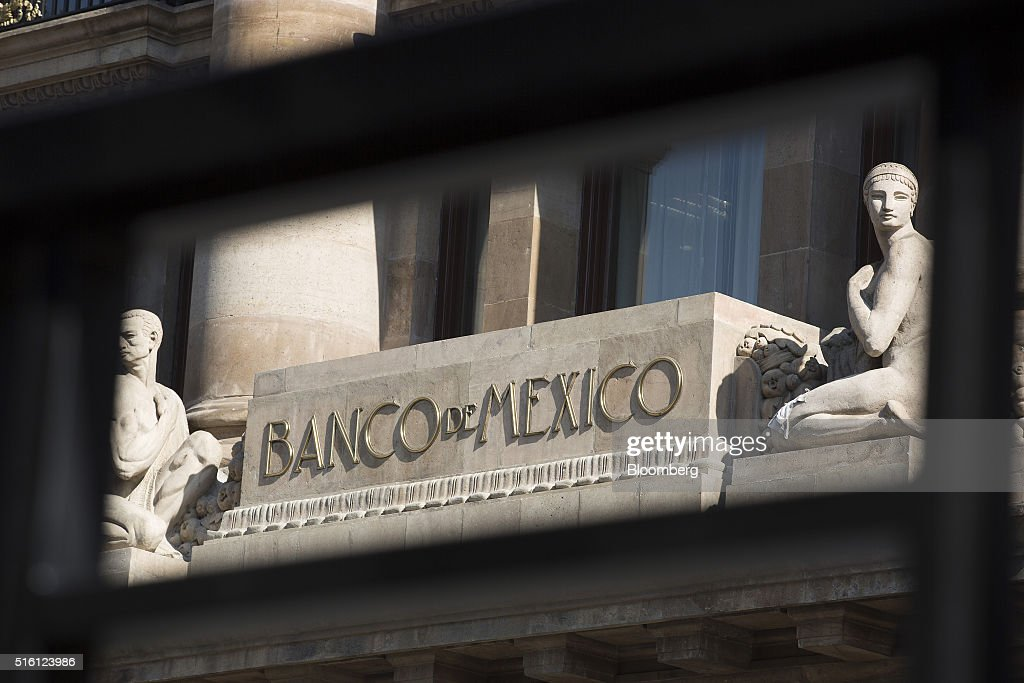 Mexico's Central Bank Headquarters Ahead Of Rate Decision : News Photo